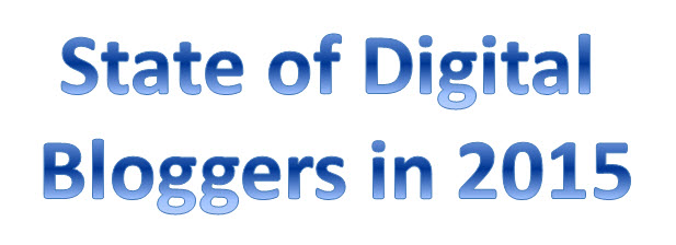 State of Digital Bloggers