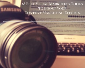 18 free visual marketing tools