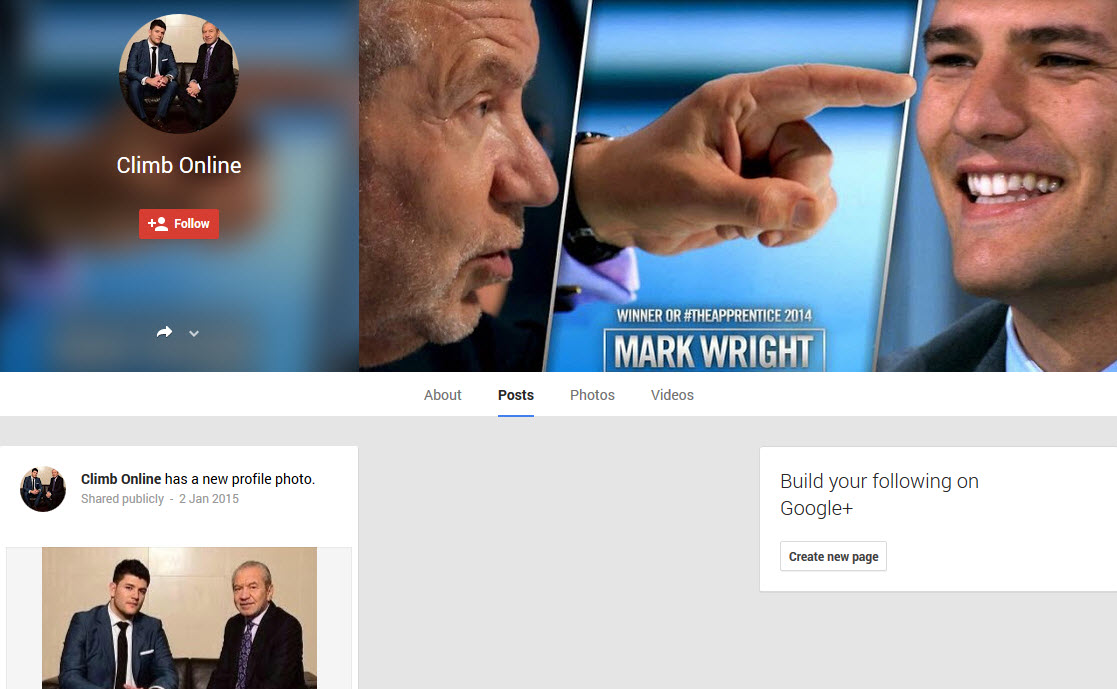Mark Wright Google Plus