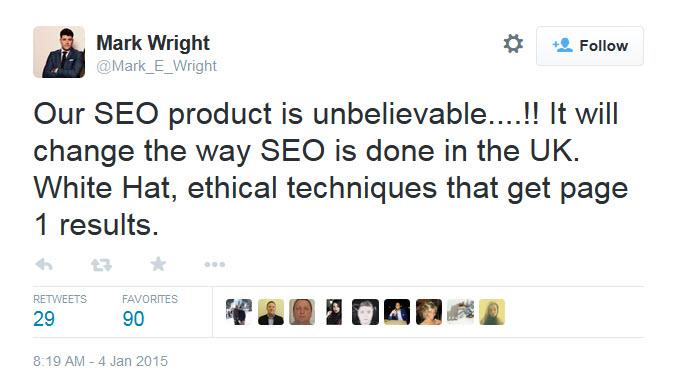 Mark Wright Twitter