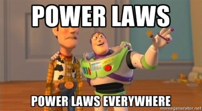 Buzz Lightyear on Power Laws