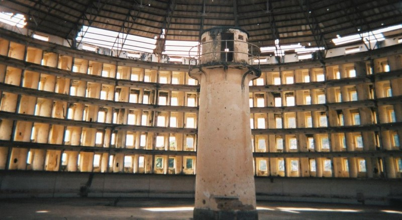 In the panopticon, there's nowhere to hide