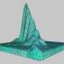 Majestic 3D Landscape Wireframe