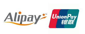 Alipay and Union Pay - Popular in China