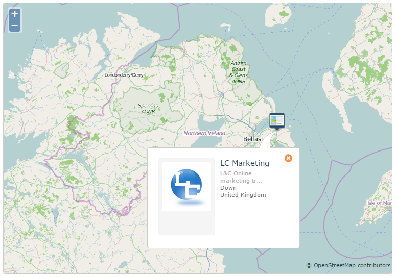 Majestic Leaderboard Map