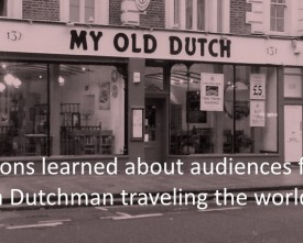 Dutchman-learnings