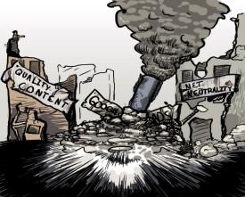 ISPs drop the bomb