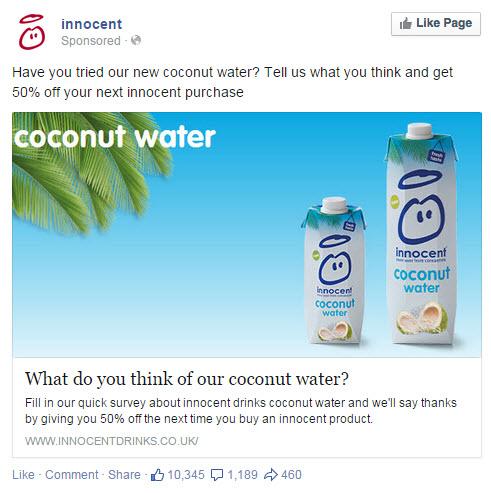 Innocent Facebook Ad - State of Digital