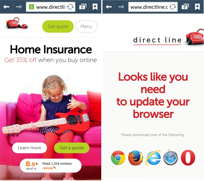 Direct Line Mobile Customer Experience - State of Digital