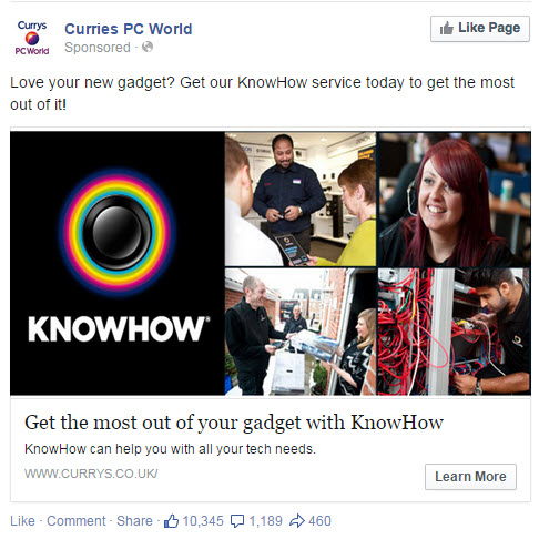 KnowHow Facebook Ad - State of Digital