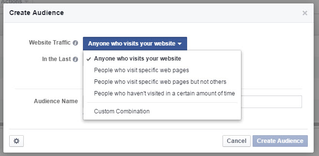 Create a Custom Audience Facebook - State of Digital