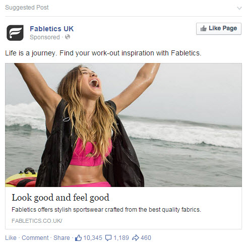 fabletics fb image ad
