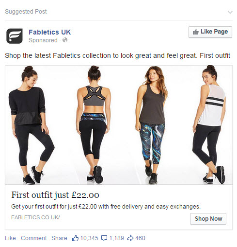 fabletics shop now