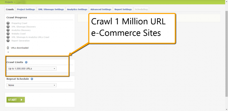 Crawl Massive Sites