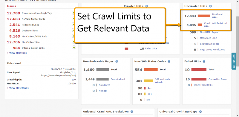40 deepcrawl tweaks to make a website soar in google search state