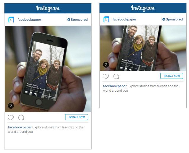 Instagram App Installs Ad Example