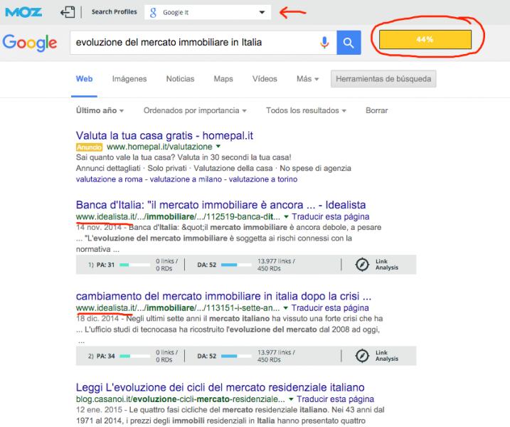 evoluzione del mercato immobiliare in Italia - Buscar con Google Google Chrome, hoy at 11.50.49