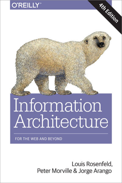 Information Architecture book, 4th edition