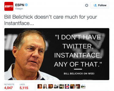 Belichick quote