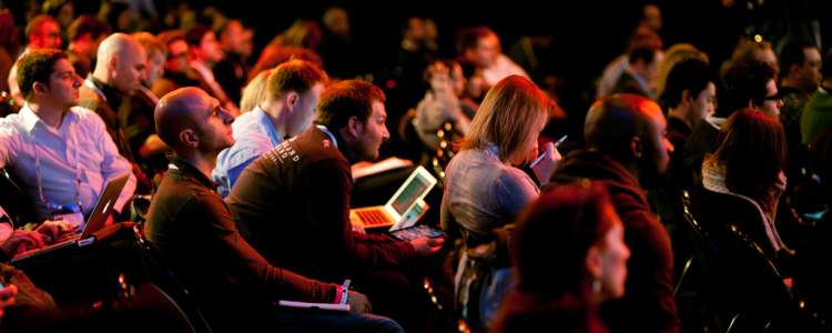 Conference audience image