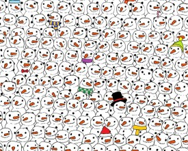 This recent craze picture, Spotting the Panda by Dudolf, is an apt analogy for the difficulty of making sense of social data. A lot of it looks the same and lacks external contextual data to differentiate each piece. That's why even Google haven't really crack the problem either.