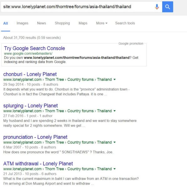 google-results-site-search