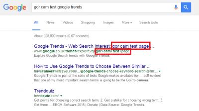 Spider Trap URL indexed by Google