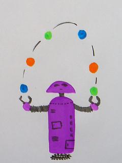 Juggling Robot image