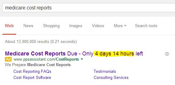 Countdown Ads