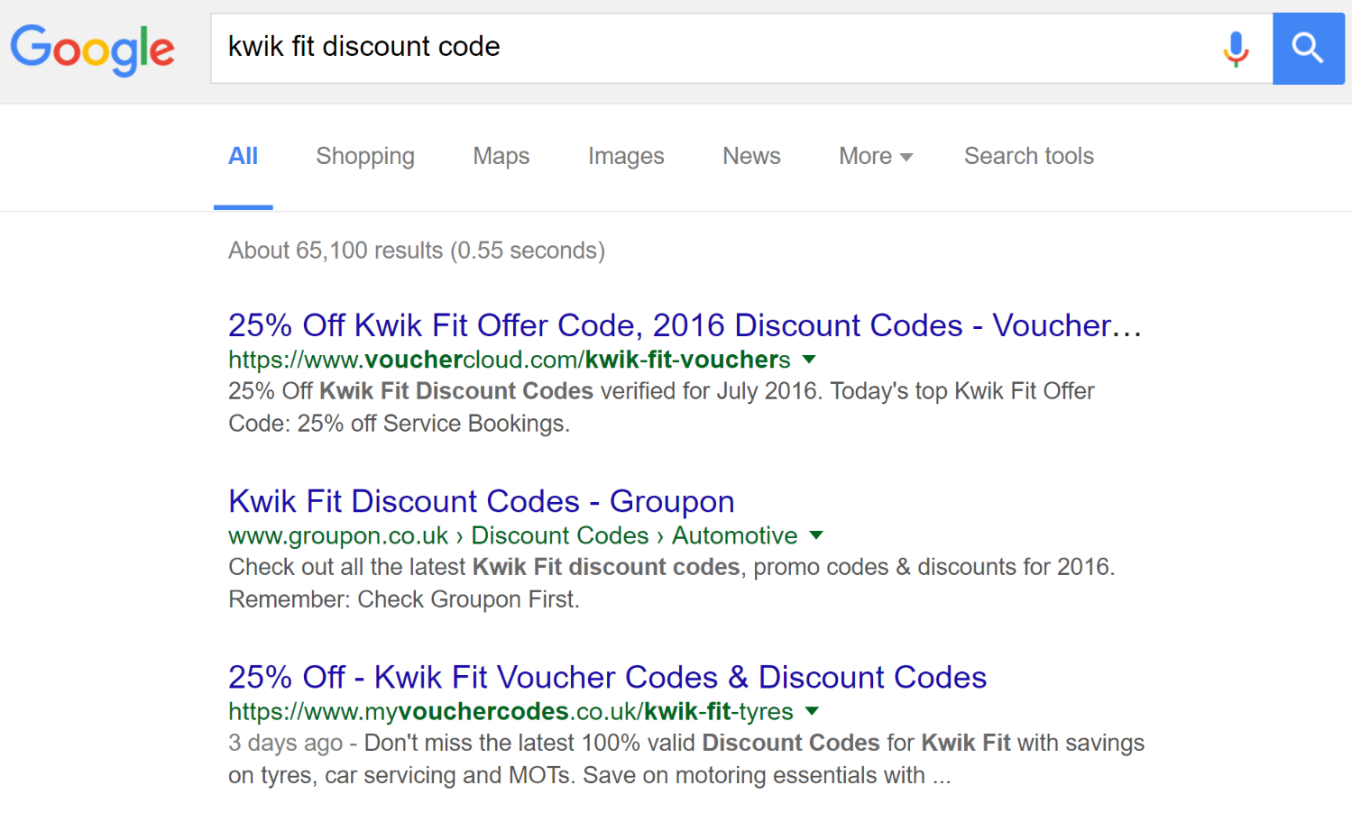 Discount Terms