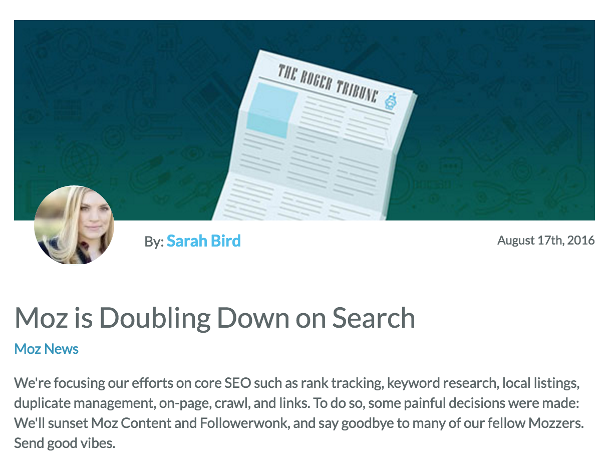 Moz Blog   SEO and Inbound Marketing Blog   Moz
