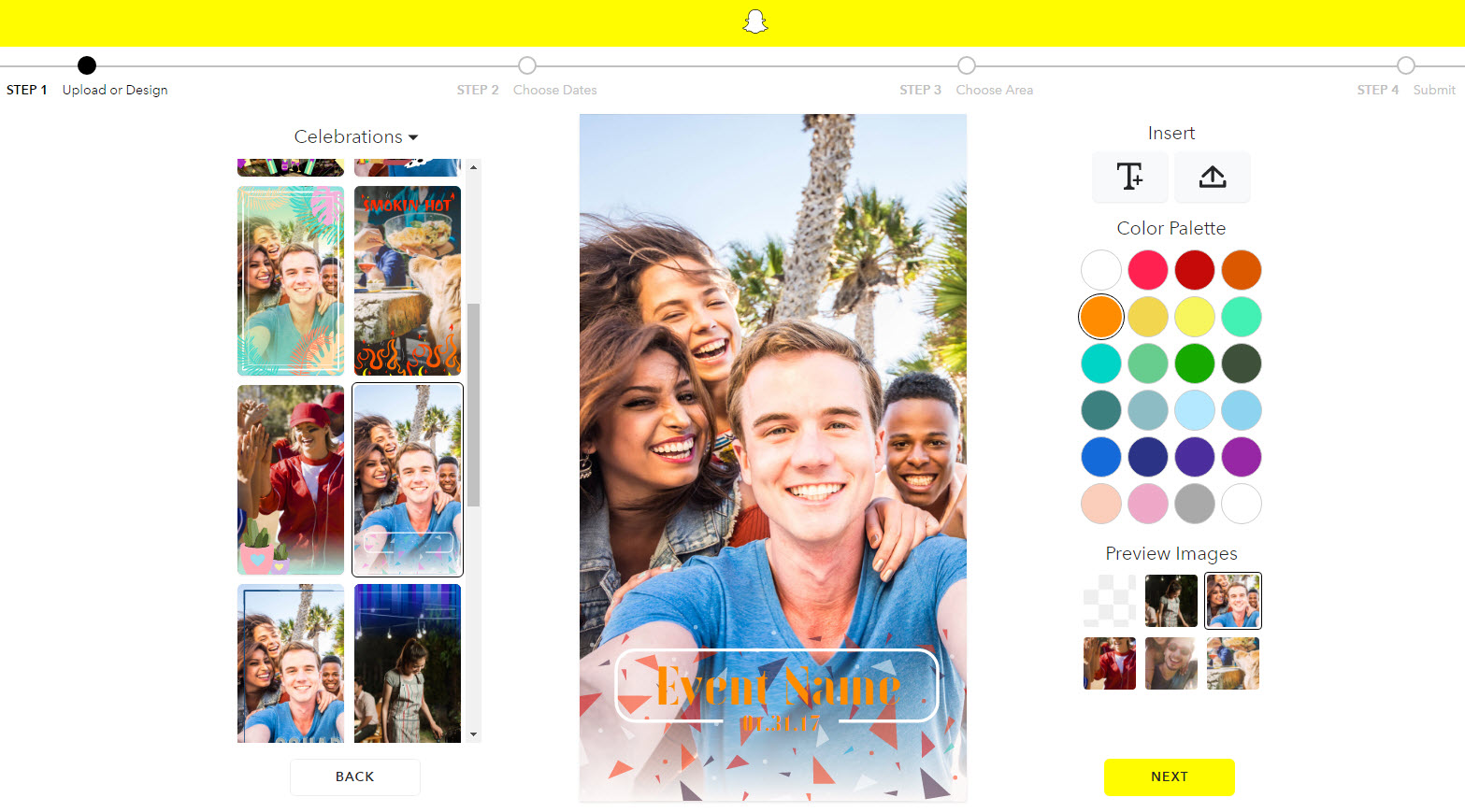 snapchat geofilter template free - guide on how to create a snapchat geofilter for your