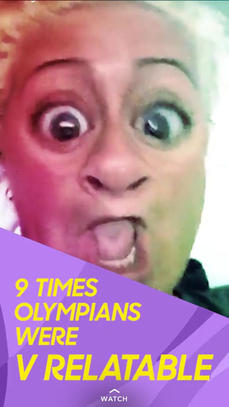 snapchat olympians