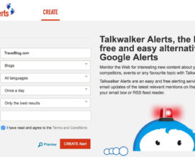 TalkWalker Alert Program