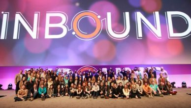 The HubSpot team after Inbound