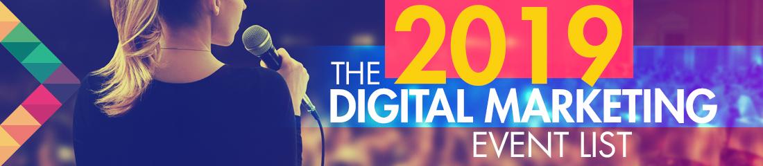 Events Calendar for SEO , Social Media and Digital Marketing