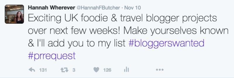 bloggerrequest