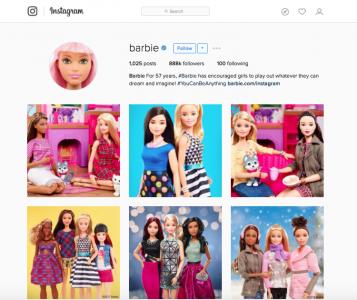 Instagram Barbie