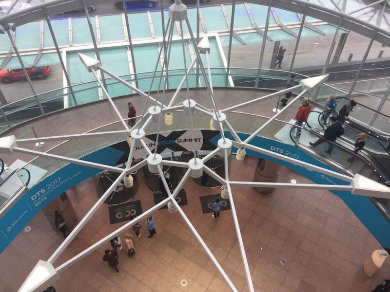 Dublin Tech Summit at Convention Centre Dublin building