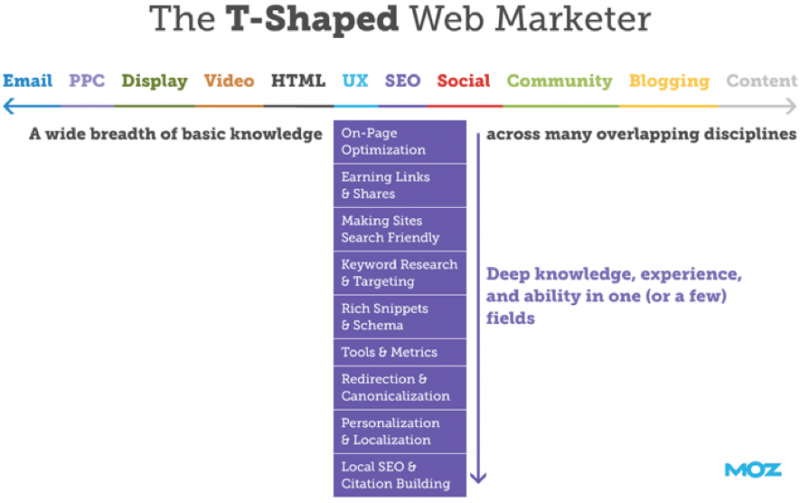 t shaped web marketer