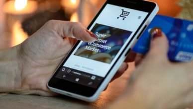 mobile phone user and potential e-commerce shopper
