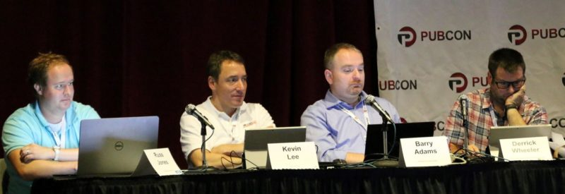 Pubcon 2015 Site Review session