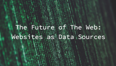 Websites as Data Sources