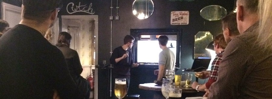 Site review at Cardiff SEO Meet