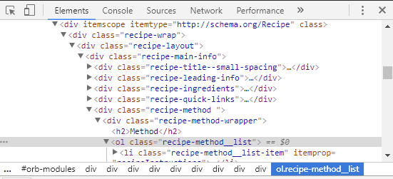 bbc-recipe-code