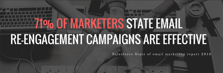 Email re-engagement campaign stats