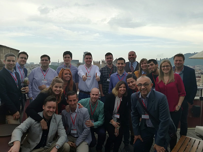 International Search Summit attendees