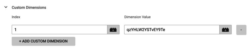 Custom Password Dimension GTM
