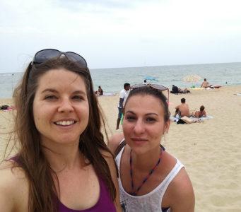 Irina and SEO JO
