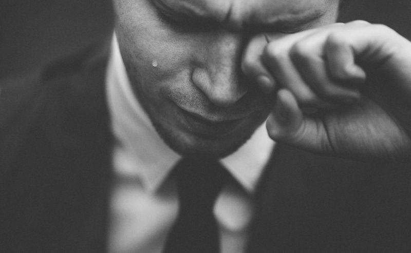 businessman upset about ranking progress